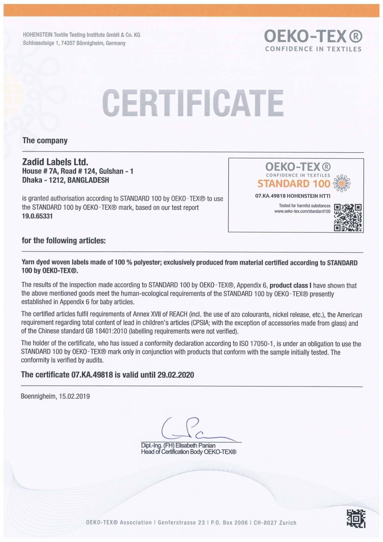 Zadid Label Woven_Certificate_2019-2020_page-0001
